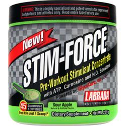 LABRADA Stim-Force Sour Apple 209 grams