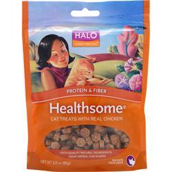 Halo Healthsome Cat Treats - Protein & Fiber w/ Real Chicken 3 oz