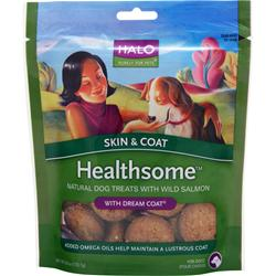 Halo Healthsome Natural Dog - Skin & Coat w/ Wild Salmon 6 oz