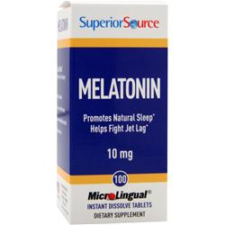 SUPERIOR SOURCE Melatonin (10mg) 100 tabs