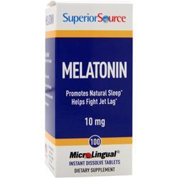 Superior Source Melatonin (10mg) 100 tabs
