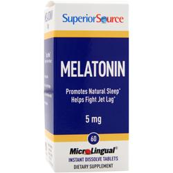 Superior Source Melatonin (5mg) 60 tabs