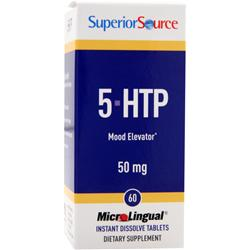 SUPERIOR SOURCE 5-HTP Mood Elevator (50mg) 60 tabs
