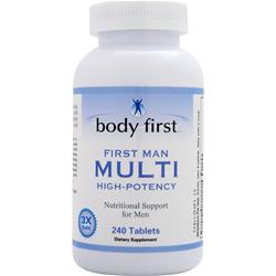 BODY FIRST First Man Multi (Hi Potency) 240 tabs