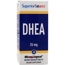 SUPERIOR SOURCE DHEA (25mg) 60 tabs