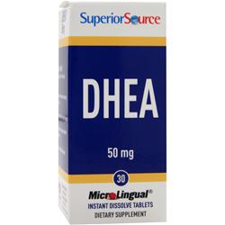 SUPERIOR SOURCE DHEA (50mg) 30 tabs
