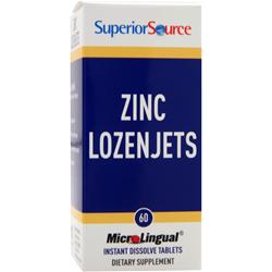Superior Source Zinc Lozenjets 60 tabs