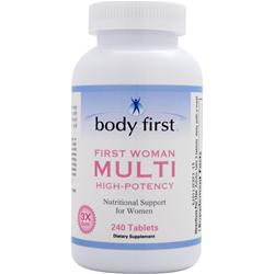 BODY FIRST First Woman Multi (High-Potency) 240 tabs