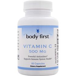 BODY FIRST Vitamin C (500mg) 60 caps