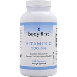 BODY FIRST Vitamin C (500mg) 240 caps