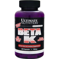 Ultimate Nutrition Beta K - Platinum Series 200 caps