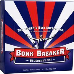 BONK BREAKER The World's Best Energy Bar Blueberry Oat 12 bars