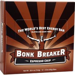 Bonk Breaker Energy Bar Espresso Chip* 12 bars