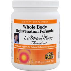 Natural Factors Whole Body Rejuvenation Formula 14 oz