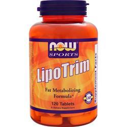 Now LipoTrim 120 tabs