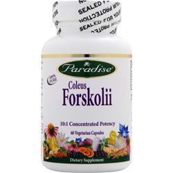 Paradise Herbs Coleus Forskolii 60 vcaps