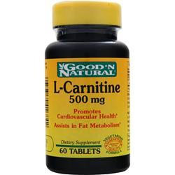 GOOD 'N NATURAL L-Carnitine (500mg) 60 tabs