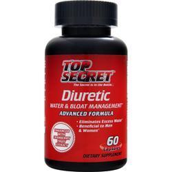 Top Secret Nutrition Diuretic Advanced Formula 60 caps