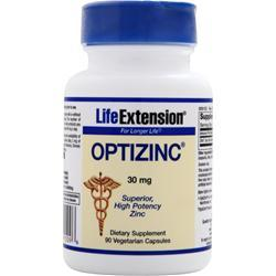 LIFE EXTENSION OptiZinc (30mg) 90 vcaps