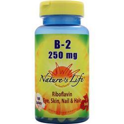 Nature's Life B-2 (250mg) 100 tabs