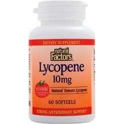 NATURAL FACTORS Lycopene (10mg) 60 sgels