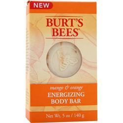 BURT'S BEES Energizing Body Bar Mango & Orange 5 oz