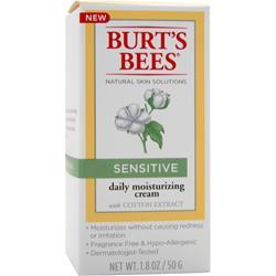 BURT'S BEES Daily Moisturizing Cream Sensitive 1.8 oz