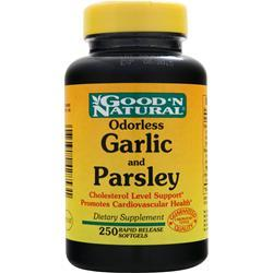 GOOD 'N NATURAL Odorless Garlic and Parsley 250 sgels