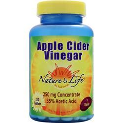 Nature's Life Apple Cider Vinegar 250 tabs