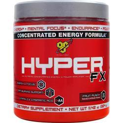 BSN Hyper FX - Concentrated Energy Formula Fruit Punch 11.42 oz