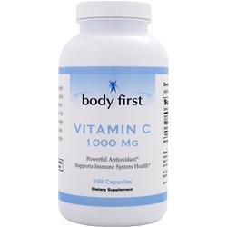 BODY FIRST Vitamin C (1000mg) 240 caps