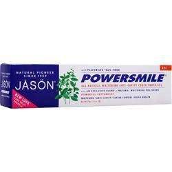 JASON Power Smile All Natural Whitening Anti-Cavity CoQ10 Tooth Gel 6 oz