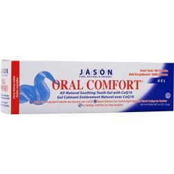 JASON Oral Comfort All-Natural Soothing Tooth Gel with CoQ10 4.2 oz
