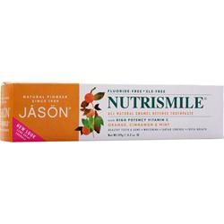 JASON Nutri Smile All Natural Enamel Defense Toothpaste Orange, Cinnamon, & Mint 4.2 oz