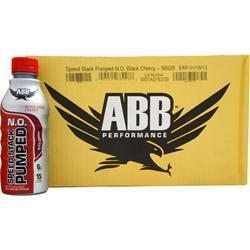 AMERICAN BODYBUILDING Speed Stack Pumped N.O. RTD Black Cherry 20 bttls