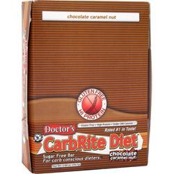 Universal Nutrition Doctor's Diet CarbRite Bar Chocolate Caramel Nut 12 bars