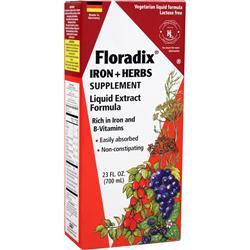 FLORA Floradix Iron + Herbs - Liquid Extract Formula 23 fl.oz