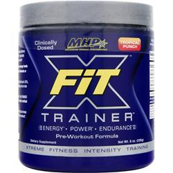 MHP X-Fit Trainer Pre-Workout Formula Tropical Punch 8 oz