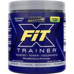 MHP X-Fit Trainer Pre-Workout Formula Citrus Lime 8.25 oz