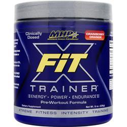MHP X-Fit Trainer Pre-Workout Formula Cranberry Orange 8 oz