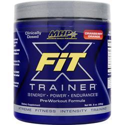 MHP X-Fit Trainer Pre-Workout Formula Cranberry Orange 8 oz