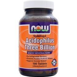 Now Acidophilus Three Billion 180 tabs