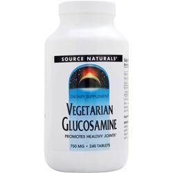 SOURCE NATURALS Vegetarian Glucosamine (750mg) 240 tabs