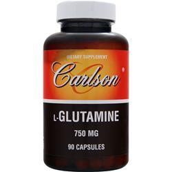 Carlson L-Glutamine (750mg) 90 caps