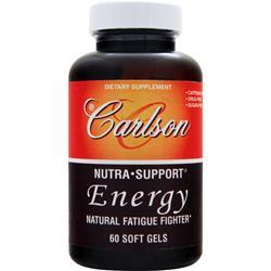 CARLSON Nutra-Support Energy - Natural Fatigue Fighter 60 sgels