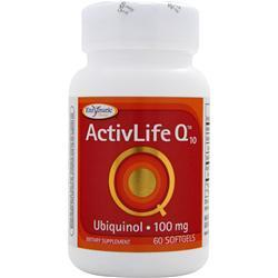 ENZYMATIC THERAPY ActivLife Q10 - Ubiquinol (100mg) 60 sgels
