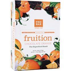 Pro Bar Fuel - the Superfood Energy Bar Chocolate Orange 12 bars