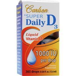 CARLSON Super Daily D3 - Liquid Vitamin D (1000IU) 365 drops