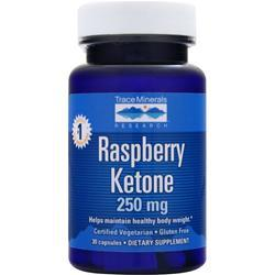 TRACE MINERALS RESEARCH Raspberry Ketone (250mg) Best by 5/14 30 caps