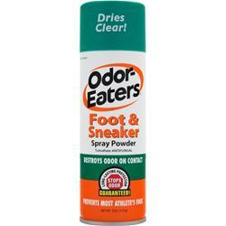 ODOR EATERS Foot & Sneaker Spray Powder 4 oz